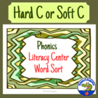 Hard C or Soft C Word Sort