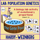 Hardy Weinberg, Population Genetics:  A Lab Simulation