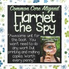 Harriet the Spy Literature Guide Common Core Aligned Activ