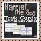 Harriet the Spy Comprehension and Analysis Task Cards - CC