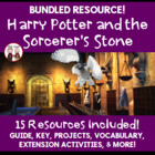 Harry Potter and the Sorcerer's Stone Reading Novel Activi