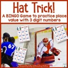 Hat Trick Place Value