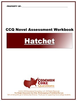 Hatchet - Common Core Aligned Assessment Packet