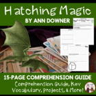 Hatching Magic Reading Comprehension Guide and Activities