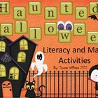 Haunted Halloween Literacy and Math Activities
