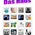 Haus (House in German) Bingo game