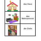 Haus (House in German) Concentration Game