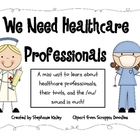 Health Care Professionals! - Literacy: ou/ow in Ouch! and