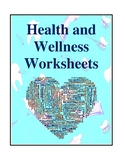 Health and Wellness Worksheets