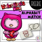 Heart Alphabet Match