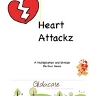 Heart Attackz A Multiplication and Division Partner Game