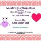 Heart & Monster Prepositions!