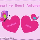 Heart to Heart Antonyms