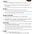Helen Keller Internet Research Worksheet