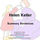 Helen Keller by Margaret Davidson Book Summary Sentences
