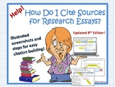 Help! How Do I Cite Sources & Build Works Cited for Resear