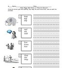 Help Piggy Get Dessert: A Sight Word Worksheet