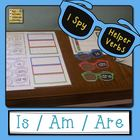 Helper Verbs IS, AM, ARE I Spy