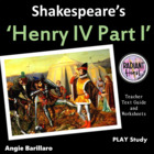 Henry IV Part One - Shakespeare Teacher Text Guides and Wo
