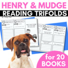 Henry and Mudge Reading Trifolds and Response Sheets (for