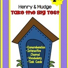 Henry and Mudge: Take the Big Test - Interactive Journal,