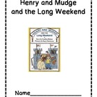 Henry and Mudge and the Long Weekend Comprehension Questions