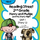 Henry and Mudge Starry Night Reading Street 2nd Grade Comm