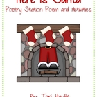 Here is Santa - Activities for Your Poetry Station