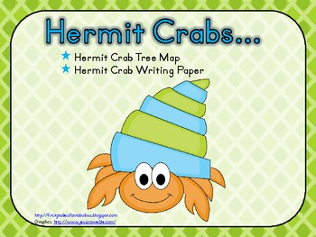 Hermit Crabs First Grade Writing Activity {FREEBIE!}