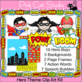 Superhero Theme Clip Art - Product Creation Kit – Personal