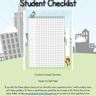 Hero Theme Student Checklist