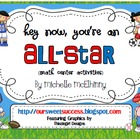 Hey Now, You're An All-Star {Math Center Activities-OA}
