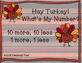 Hey Turkey! What's My Number?