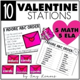 Hi, Valentine! {5 Math and 5 Literacy Centers}