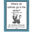 Hibernation Unit: teacher book, 3 class booklets, 10 frames +more