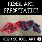 High School Art Lesson Plan. Introduction to Fiber Arts. C