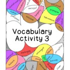 High School Vocabulary Activity Critical Thinking PDF Prin