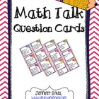 Higher Level Thinking Questions for Math Talk
