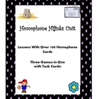 Hijinks With Homophones--An Interactive Unit With Task Cards