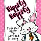 Hippity Hoppity--Easy Prep Centers for Math and Litearacy