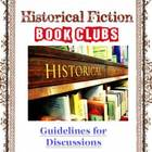 Book Clubs Historical Fiction Reader's Workshop Unit