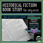 Historical Fiction Book Study