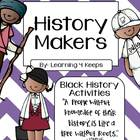 History Makers Pack- Black History