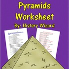 History of Pyramids Worksheet: (Great Website)