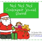 Ho! Ho! Ho! Initial Sounds Game!