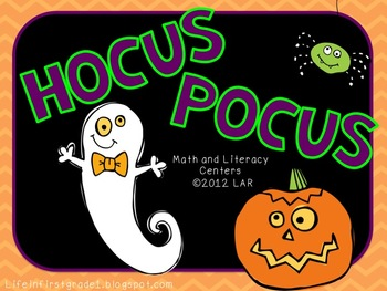 Hocus Pocus! Math and Literacy Centers