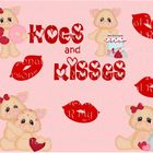 Hogs & Kisses  Bulletin Board in a Bag