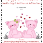 Hogs & Kisses Double Digit Addition & Subtraction