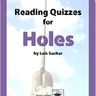 Holes Reading Quizzes - Entire Novel