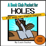 Holes, by Louis Sachar: A Bookclub Packet